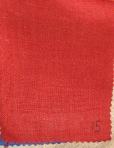 ЛЕН образцы_красный костюмный