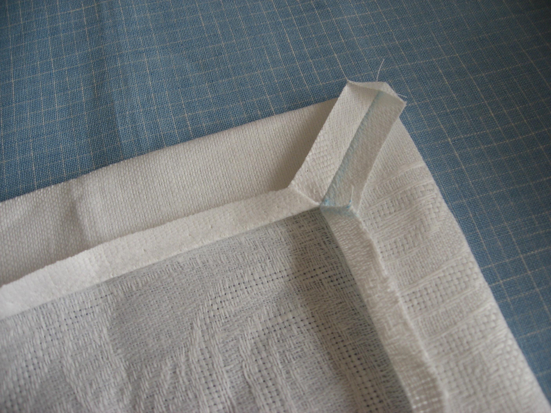 Как сделать углы из салфетки