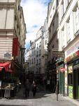 Парижская улочка, какихмного